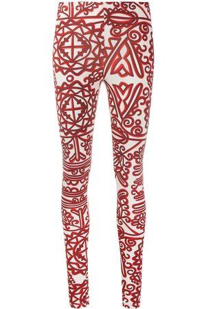 La DoubleJ Senhora Calças Justas - Printed stretch leggings