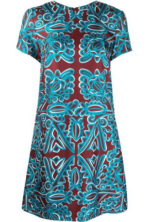 La DoubleJ Mini silk swing dress