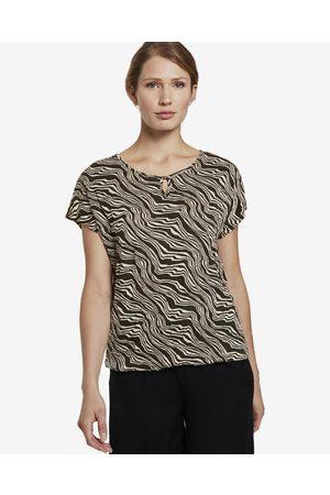 TOM TAILOR T-shirt Brown