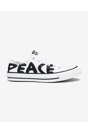 Converse Chuck Taylor All Star Peace Powered Sneakers White