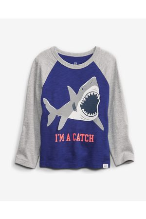 GAP Kids T-shirt Blue Grey