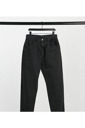 Reclaimed Vintage Inspired the '83 unisex relaxed fit jean in washed black