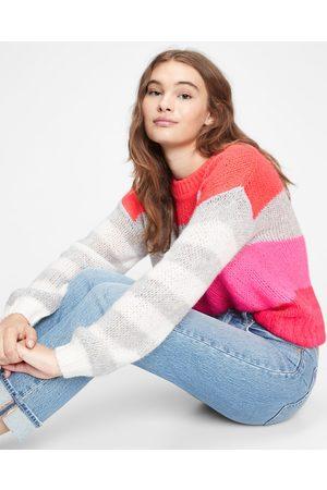 GAP Sweater Red Grey