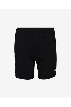 Puma Puma Alpha Summer Kids Shorts Black
