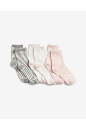 GAP Set of 3 pairs of kids socks White Grey