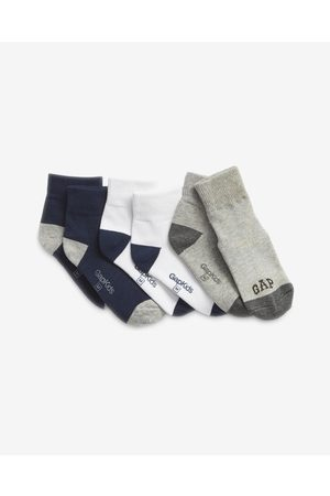 GAP GAP Set of 3 pairs of kids socks Black White Grey