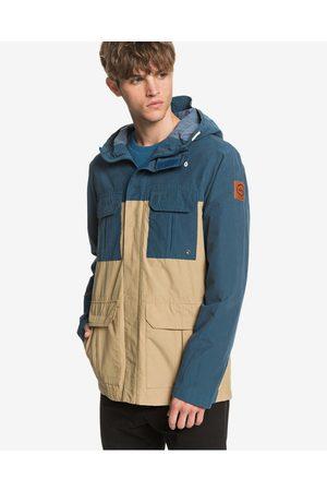 Quiksilver Fresh Evidence Jacket Blue Beige