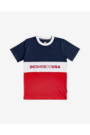 DC Glenferrie Kids T-shirt Blue Red