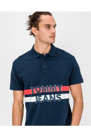 Tommy Hilfiger Block Stripe Polo T-shirt Blue
