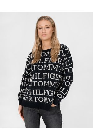 Tommy Hilfiger All-Over Sweater Blue