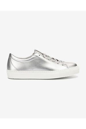 Tommy Hilfiger Zero Waste Metallic Sneakers Silver