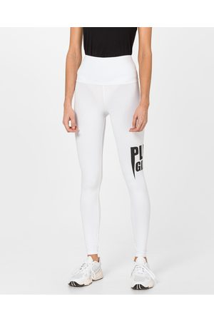 Philipp Plein Philipp Plein Plein Girls Leggings White