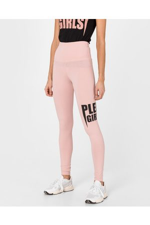 Philipp Plein Philipp Plein Plein Girls Leggings Pink