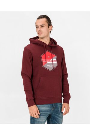 Jack & Jones Lambo Sweatshirt Red