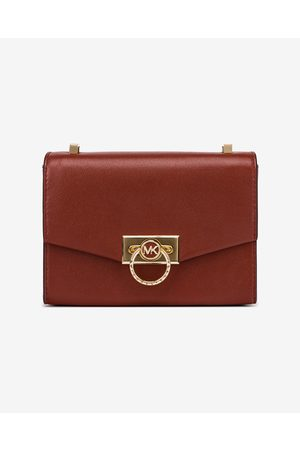 Michael Kors Hendrix Extra Small Leather Cross body bag Red