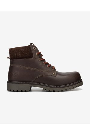 Wrangler Ankle boots Brown