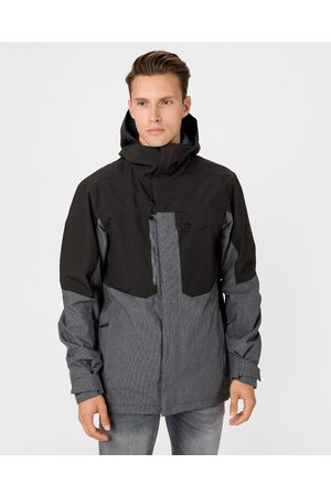 Salomon Powderstash Jacket Black Grey