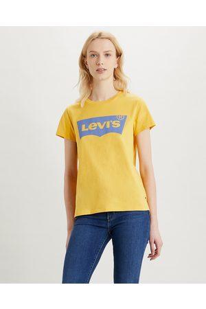 Levi's Senhora T-shirts & Manga Curta - Levi's® The Perfect T-shirt Yellow