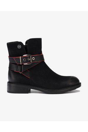 Wrangler Vanys Biker Ankle boots Black
