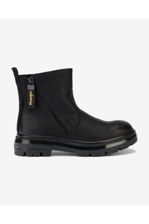 Wrangler Clash Zip Ankle boots Black
