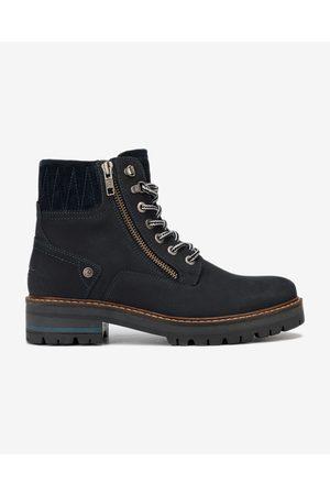 Wrangler Denver Zip Ankle boots Blue