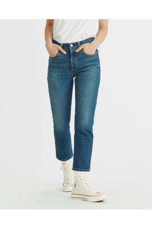 Levi's 501® Crop Jeans Blue