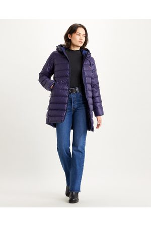 Levi's Core Down Mid Length Jacket Violet