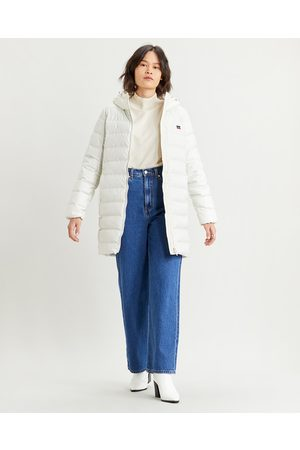 Levi's Core Down Mid Lenght Puffer Jacket White