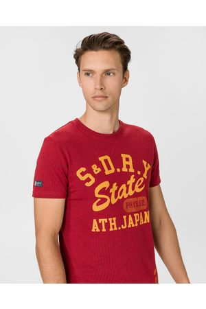 Superdry T&F Classic T-shirt Red