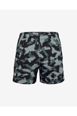 Under Armour Launch SW 5'' Camo Shorts Black