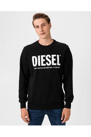 Diesel S-Gir-Division-Logo Sweatshirt Black