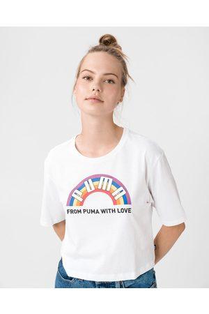 PUMA Puma Pride Graphic T-shirt White