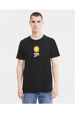PUMA Club Graphic T-shirt Black