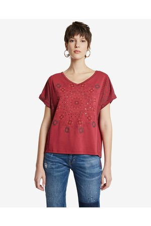 Desigual Detroit T-shirt Red