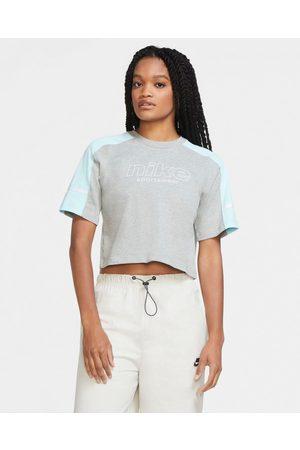 Nike Sportswear Crop top Blue Grey