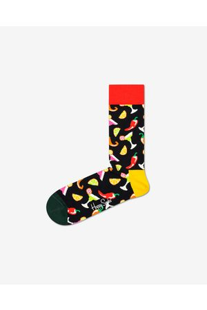 Happy Socks Happy Socks Drink Socks Black