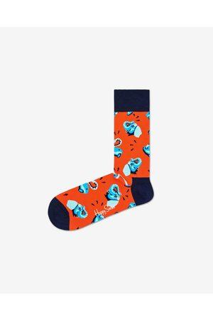 Happy Socks Clean Elephant Socks Red