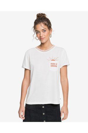 Roxy T-shirt Beige