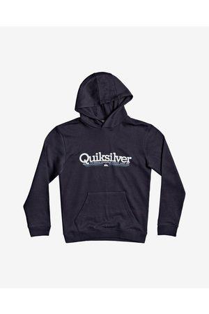 Quiksilver Menino Camisolas sem capuz - Quiksilver Tropical Lines Kids Sweatshirt Blue