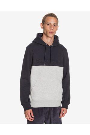 Quiksilver Emboss Block Sweatshirt Black Grey