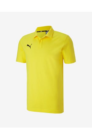 PUMA TeamGOAL 23 Polo T-shirt Yellow