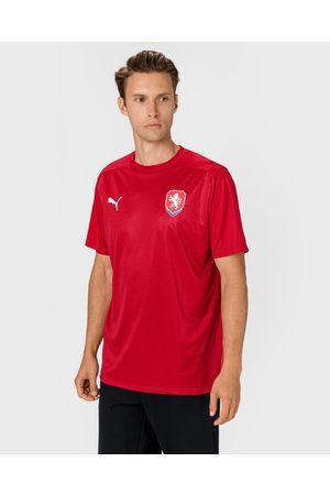 PUMA Česká Republika Football Culture T-shirt Red