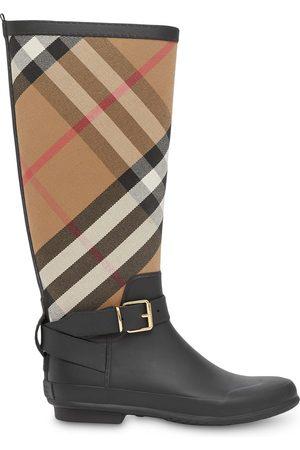 Burberry Senhora Galochas - House Check rubber rain boots