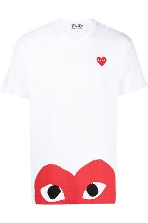 Comme des Garçons Embroidered logo cotton T-shirt