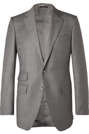 Tom Ford O'Connor Slim-Fit Super 110s Sharkskin Wool Suit Jacket