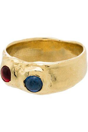 Mondo Mondo Felt stone-embellished ring