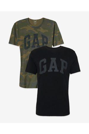 GAP T-shirt 2 Piece Black Green