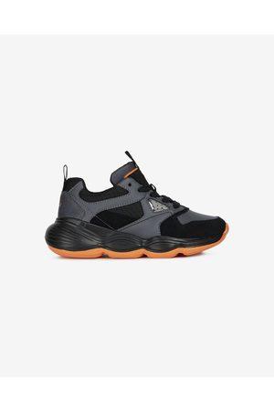 Geox Kids Sneakers Black Orange