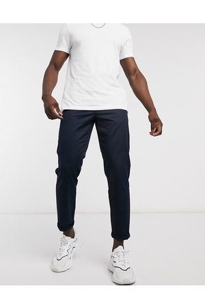River Island Tapered chino in navy