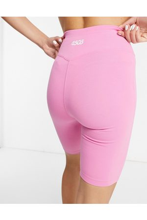 ASOS Icon booty legging short in cotton touch-Pink